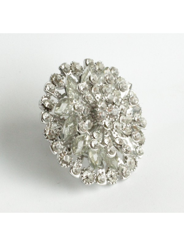Bague Margu strass Blanc