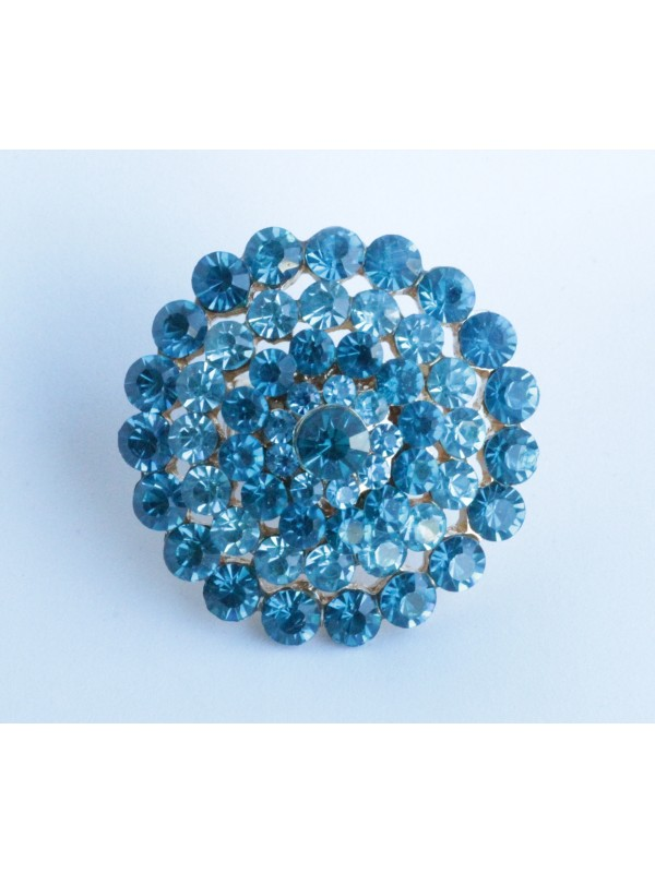 Bague Viorn strass Turquoise